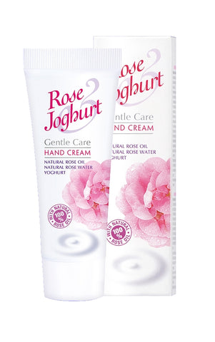 rj - Rose Joghurt Hand Cream with Rose Oil and Yogurt,