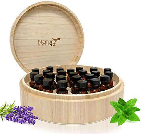 dt - Large Essential Oil Box - Holds 37 Bottles