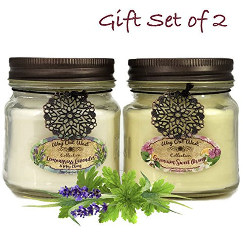 az -Way Out  West Aromatherapy Essential Oil Candles