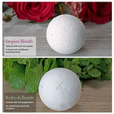 az - Body Essentials Bath Bombs & Candle Set