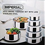 HW- Imperial 10-Piece Mixing Bowl Set with Lids | 5 Bowls
