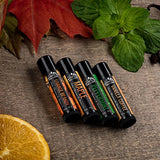 rm - Lip Balm Set - 4 Scents - Natural Ingredients
