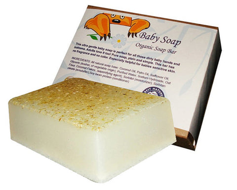 bn - Organic Unscented Soap Bar for sensitive skin, for
