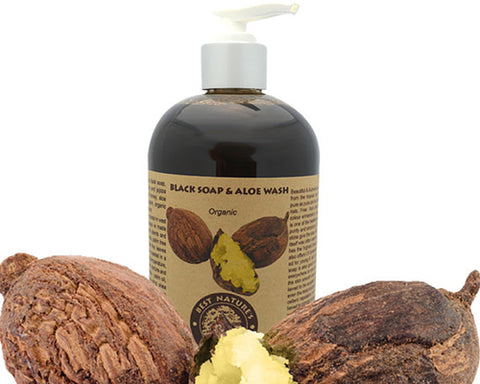 bn - Organic Black Soap & Aloe Wash 8oz/240ml