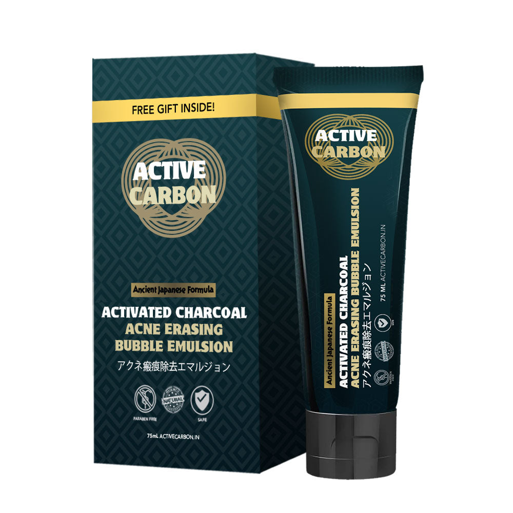 Activated Charcoal Acne Erasing Bubble Emulsion