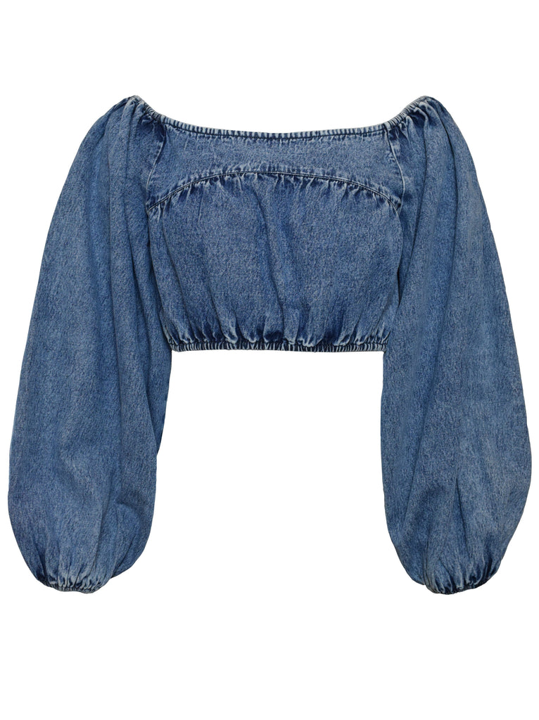 Denim Daly Top