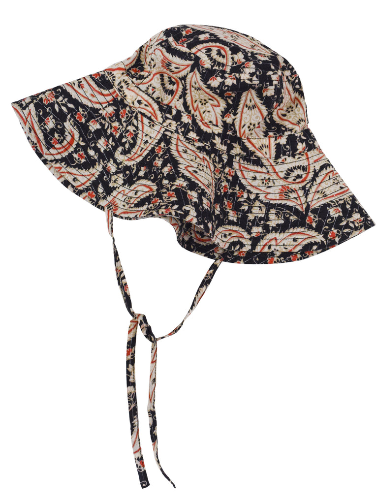 Paisley Floppy Bucket Hat