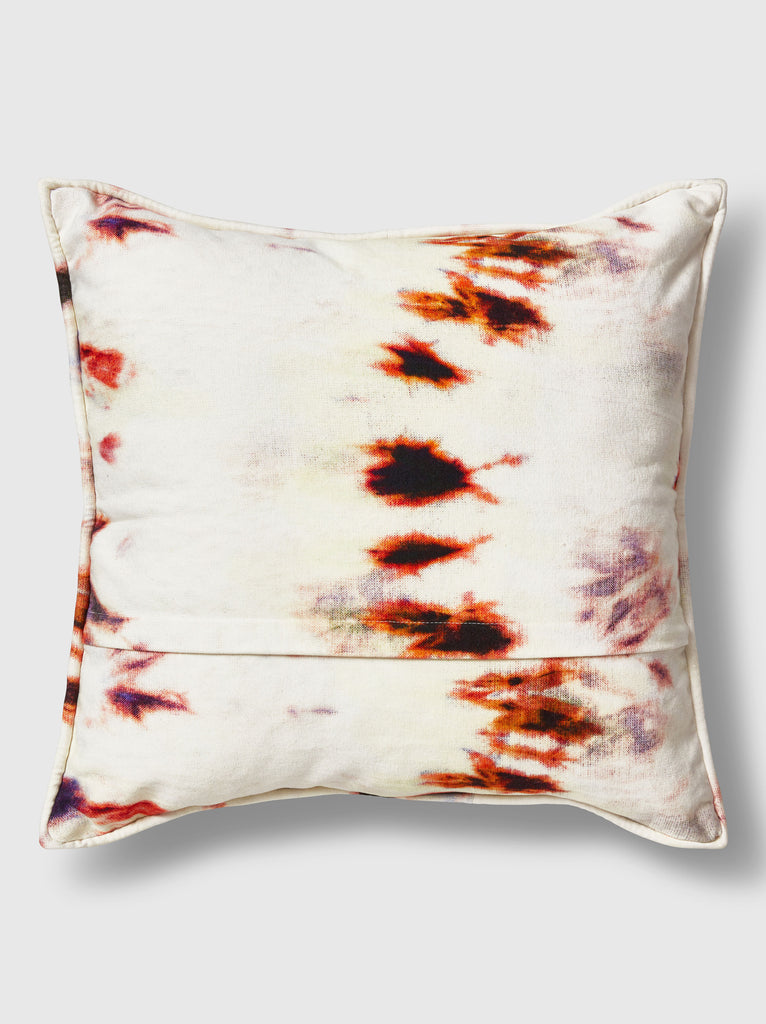 "NFC x RAHI - Vortex Tie Dye Throw Pillow, 18""x18"""