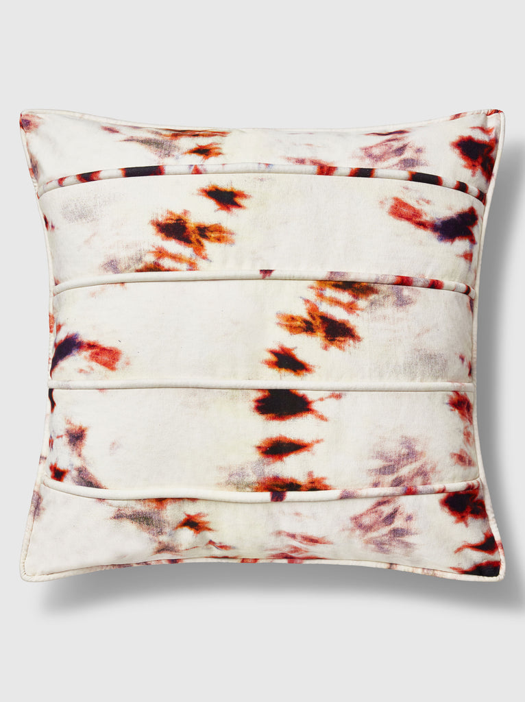 "NFC x RAHI - Vortex Tie Dye Throw Pillow, 24""x 24"""