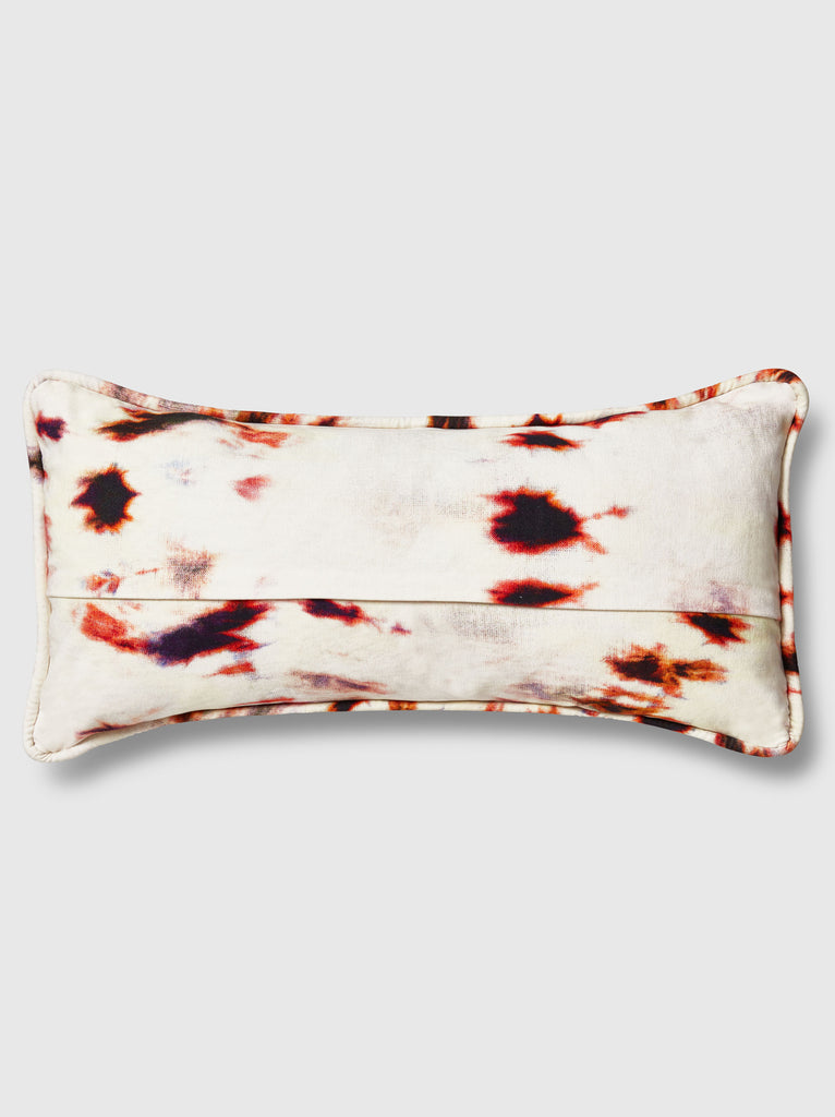 "NFC x RAHI - Vortex Tie Dye Throw Pillow, 12""x18"""
