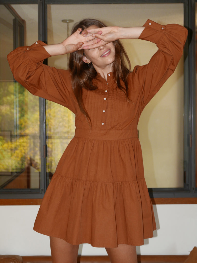 Ginger Poplin Shirt Dress