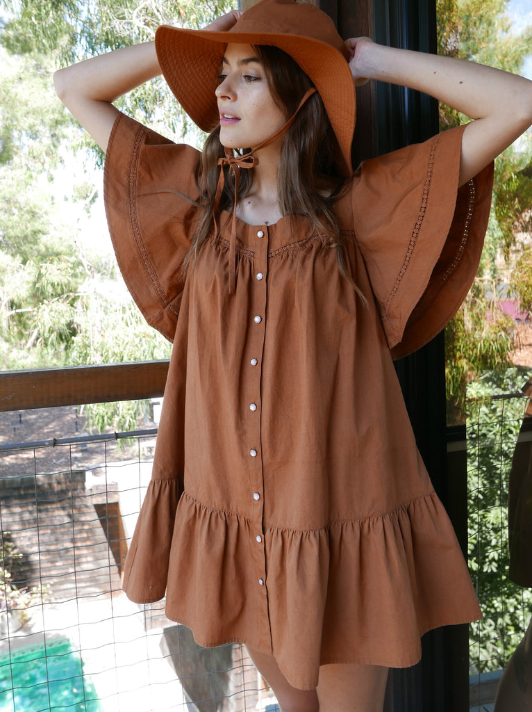 Ginger Poplin Tunic Dress