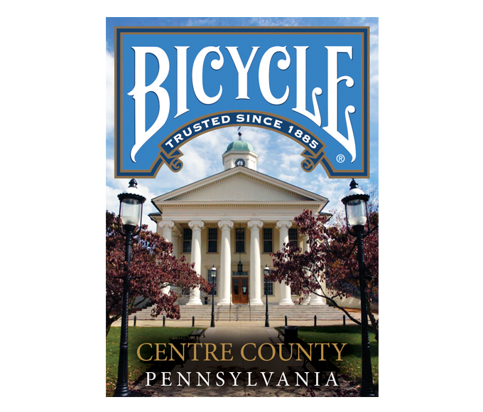 Bicycle: Centre County Playing Cards