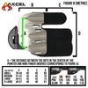 AXCEL® Contour Finger Tab - Large and X-Large - RIGHT HAND - Brady Ellison Series