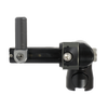 TriLock Adjustable Offset Mount  - includes 1 side rod CenterLock Quick Disconnects - Black