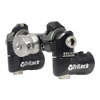 TriLock Adjustable V-Bar Mount (with Eyebolt) - includes 2 side rod CenterLock Quick Disconnects - Black
