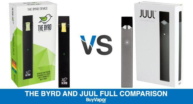 The Byrd And Juul Full Comparison