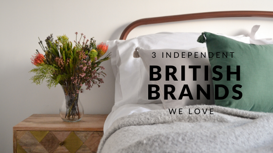 3 Independent British Brands we love 💖