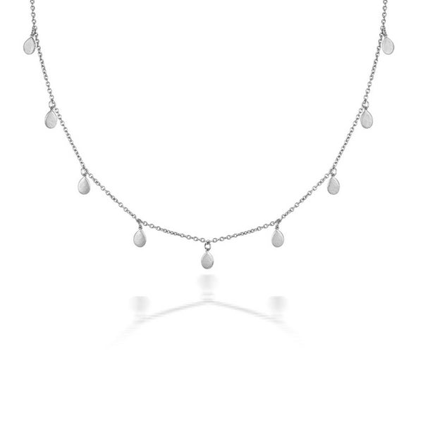 Silver necklace - sustainable jewellery