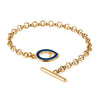 Apple Pip Heavy Chain Bracelet, Gold