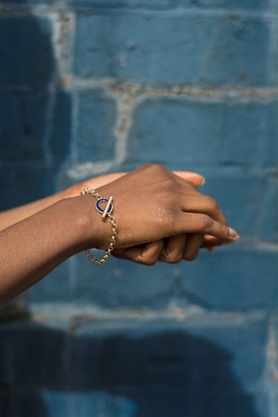 gold bracelet - sustainable jewellery