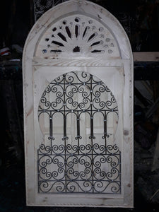 Moroccan wrought iron window for your riad style as seen in marrakech