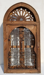 Moorish palace wrought iron window