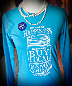T-Shirt- Buy Local Mason Jar