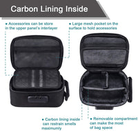 Pack Science Smell Proof Carbon Lined Locking Stash Bag