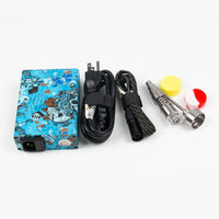 Fancier Black/Camo/Wood/Blue Skulls/Yellow Camo E-Nail Kit - Discount E-Nails