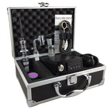 Fancier Double Quartz & Titanium E-Nail Case Kit - Discount E-Nails