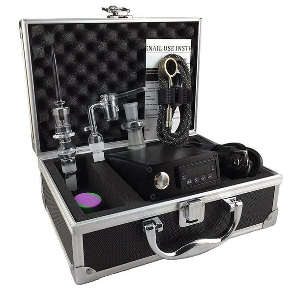 Fancier Quartz Double E-Nail Case Kit - Discount E-Nails