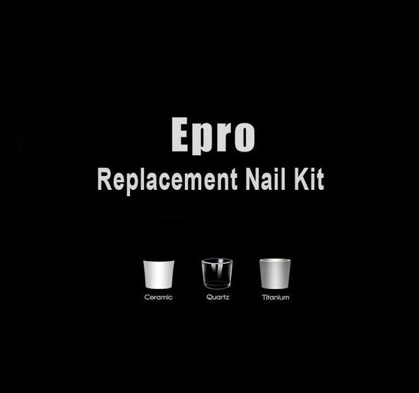 Greenlightvapes G9 Epro Replacement 3x Nail Kit - Discount E-Nails