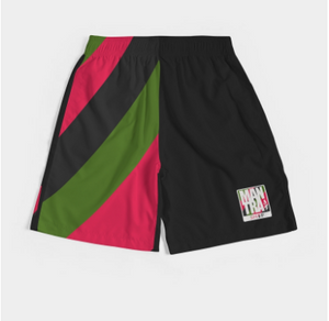 "Jogger Shorts ""PANther"" Colorway"