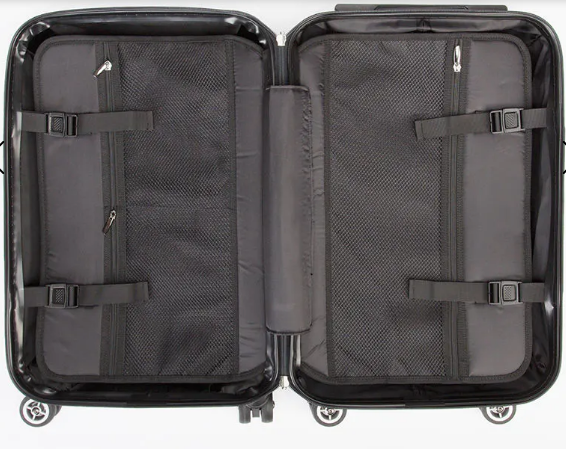 """PAN-National"" Rolling Suitcase"