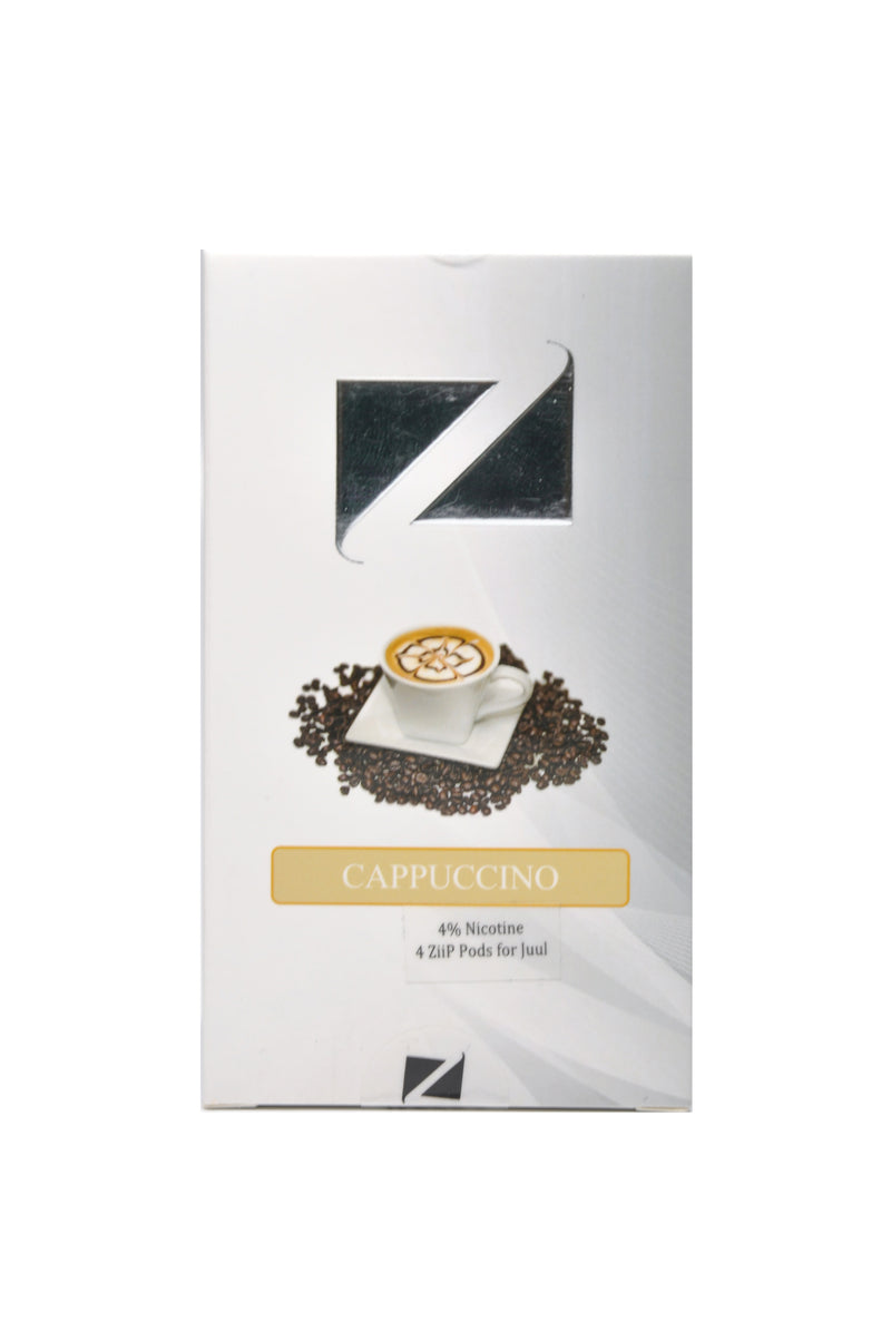 ZiiP PODS FOR JUUL DEVICES - CAPPUCCINO 4%