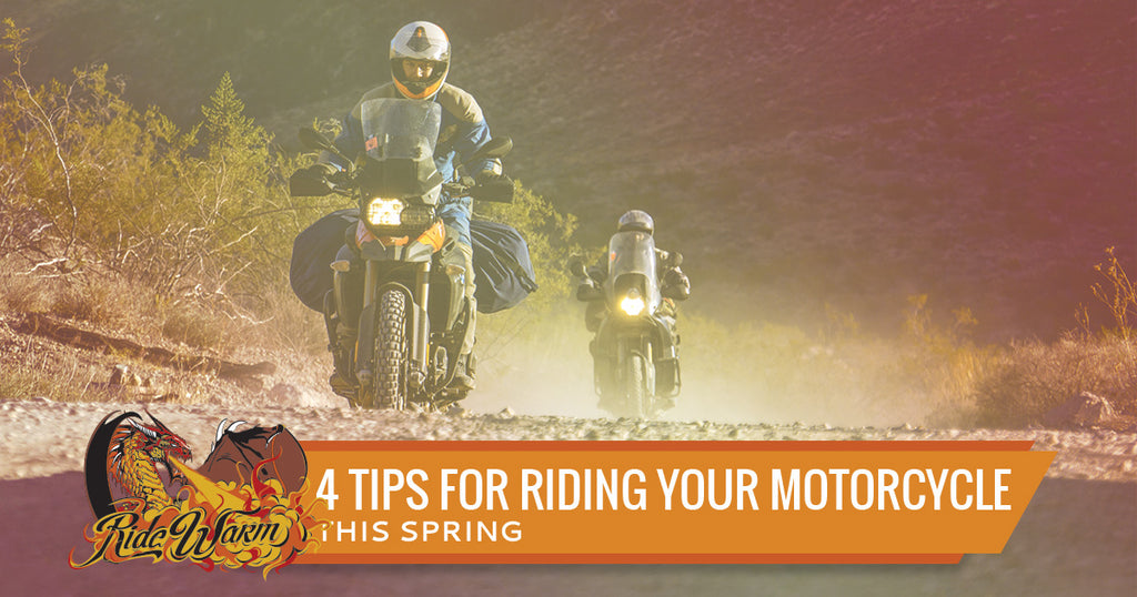 4 Tips For Riding Your Motorcycle This Spring