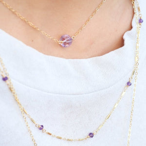 The Simp Necklace - Amethyst