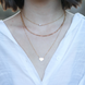 The Simp Necklace - White Pearl 1