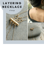 Layering Necklace Clasp