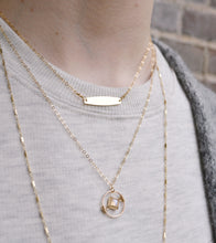 The Wanderlust Necklace - Rainbow Moonstone
