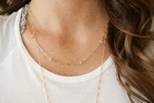 The Posh 2 in 1 Necklace+Bracelet - Herkimer Diamond