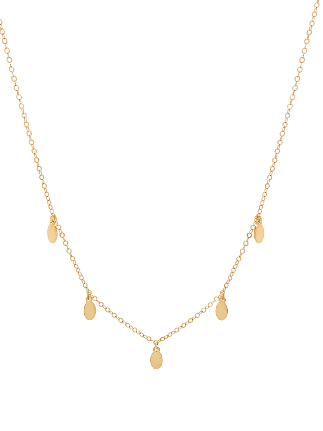The Multi Drop Necklace - Teardrops