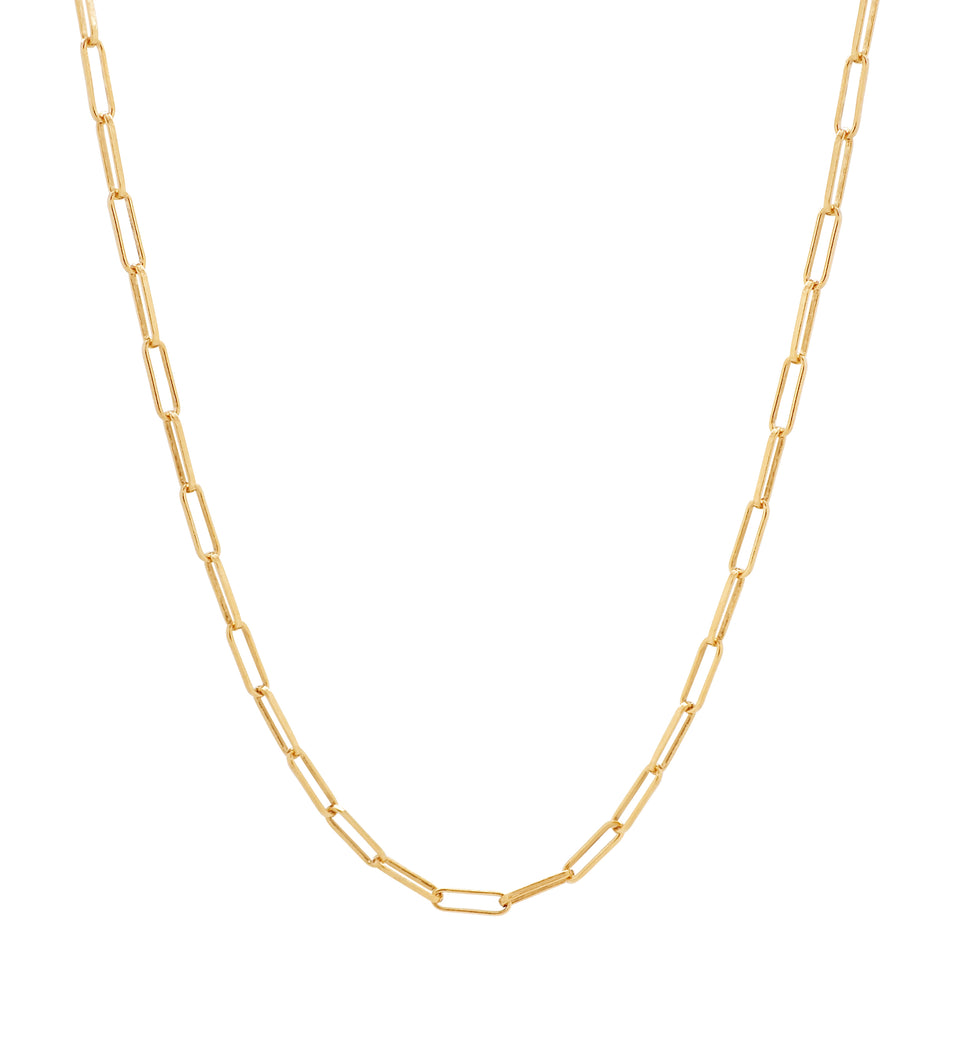 The Rectangle Link Chain Necklace