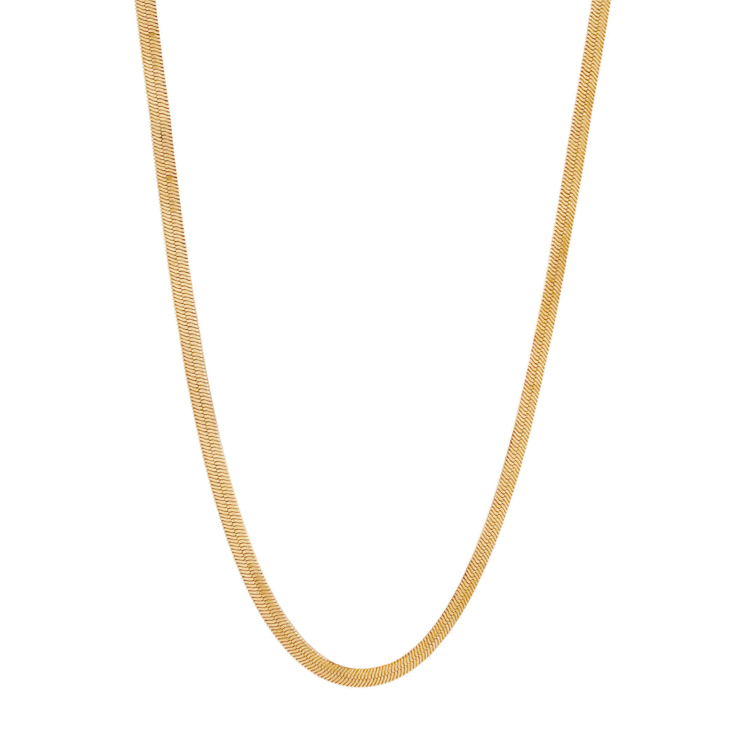 The Herringbone Chain Necklace