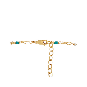 The Shimmer Oval Link Bracelet - Multi Stone