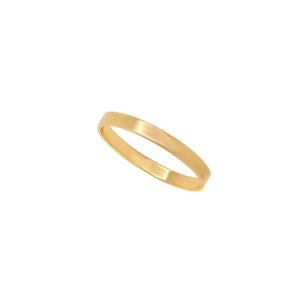The Flat Band Ring