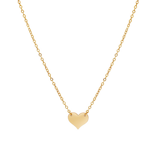 The Heart Charm Necklace