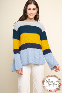 Peacock Bell Sweater