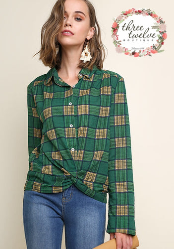 Fraser Plaid Button Up